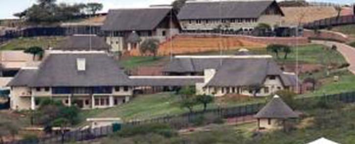 President Jacob Zuma's Nkandla homestead. Picture: City Press.