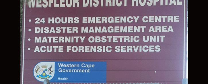 FILE: The Wesfleur Hospital in Atlantis, in the Western Cape. Picture: @WCHealthMEC/Twitter.