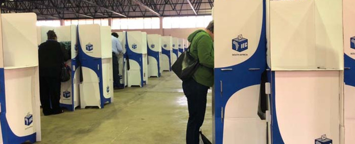 FILE: Voters cast their ballots in Tshwane. Picture: EWN