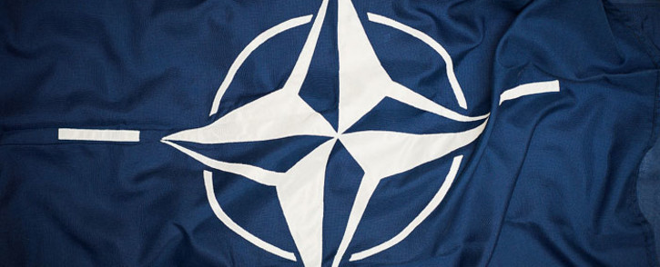 The Nato flag. Picture: Commons.wikimedia.org