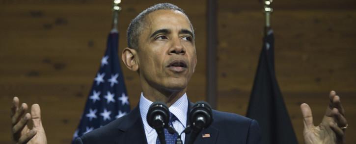 President Barack Obama. Picture: AFP