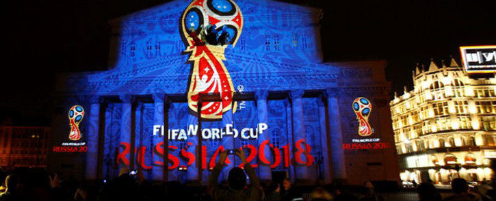 The emblem for the 2018 Fifa World Cup in Russia. Picture: Facebook.com