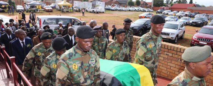 The ANC's Khabisi Mosunkutu is laid to rest on 3 January 2019. @GautengANC/Twitter