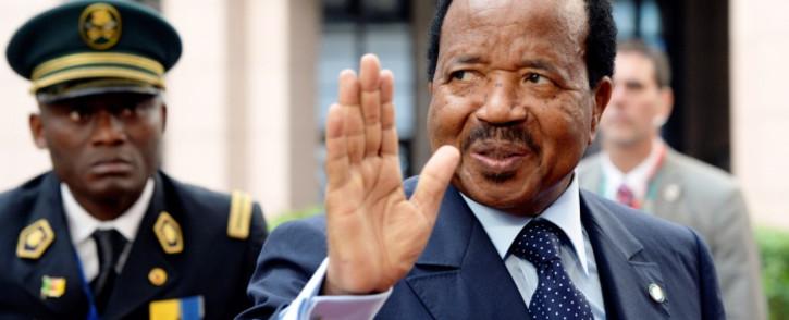 FILE: Cameroon president Paul Biya. Picture: AFP