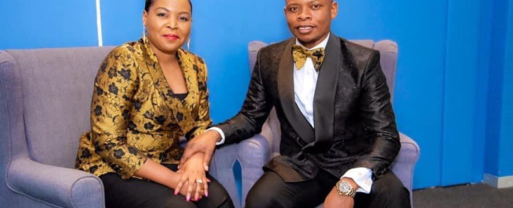 The leaders of the Enlightened Christian Gathering Church, Mary Bushiri and Shepherd Bushiri. Picture: @psbushiri/Twitter