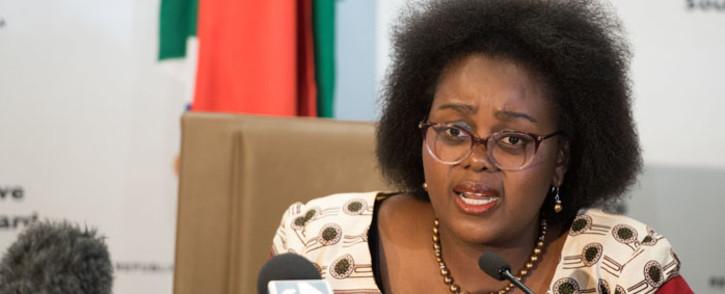 FILE: Minister of Communications Mmamoloko Kubayi-Ngubane. Picture: GCIS