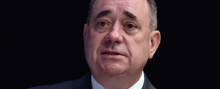FILE: Salmond accused Britain's three main political parties of winning last Thursday's referendum by 55-45 percent by making a false promise of new powers.