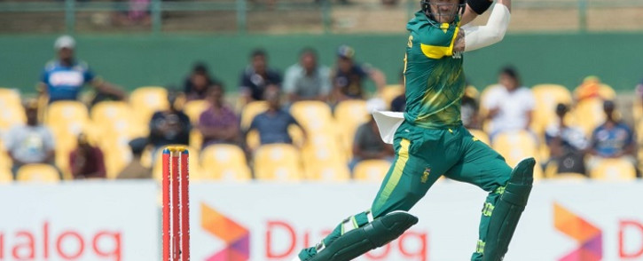 Faf du Plessis. Picture: @OfficialCSA/Twitter.