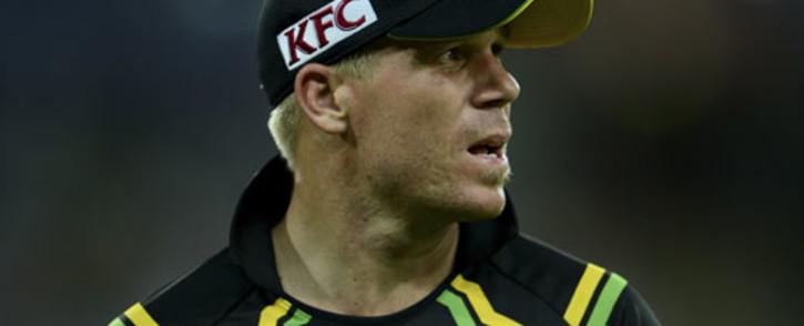 Australia's David Warner. Picture: AFP