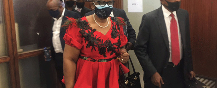 Former eThekwini Mayor Zandile Gumede and 21 others appeared in the Durban Commercial Crimes Court on 23 March 2021. Their case has been transferred to the Durban High Court for a pre-trial conference. Picture: Nkosikhona Duma/Eyewitness News.