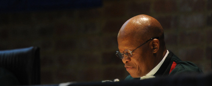 FILE: Chief Justice Mogoeng Mogoeng delivers the judgment by the Constitutional Court on the Nkandla matter on 31 March 2016. Picture: Supplied.