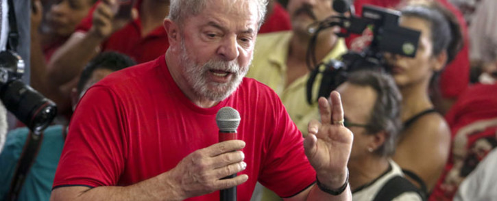 FILE: Luiz Inacio Lula da Silva. Picture: AFP