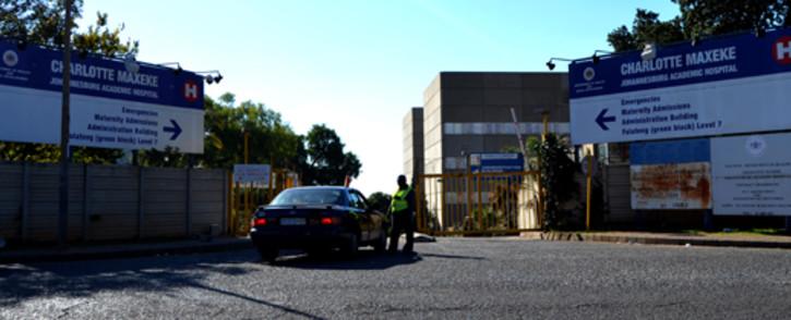 FILE: Charlotte Maxeke Johannesburg Academic Hospital