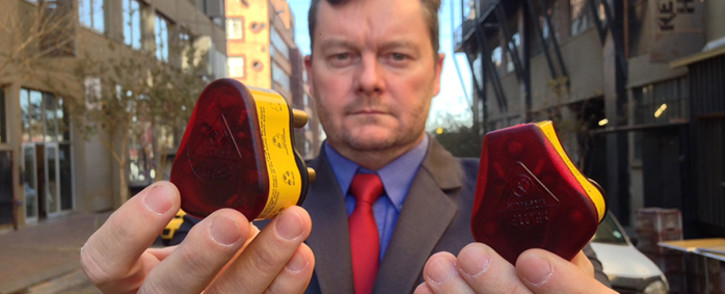Jason Roper, the inventor of the Wonderplug claims Ellies copied his product. Picture: Vumani Mkhize/EWN.