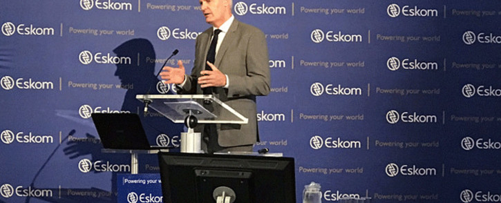 FILE: Eskom CEO Andre de Ruyter at a briefing on 31 January 2020. Picture: Bonga Dlulane/EWN