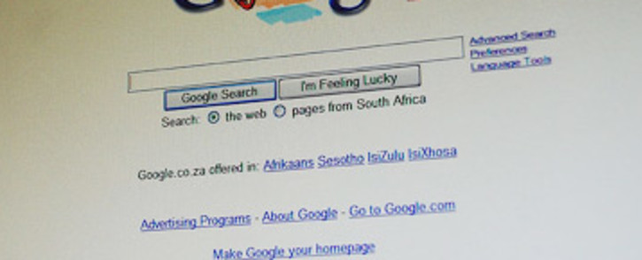 Google search engine. Picture: Taurai Maduna/EWN