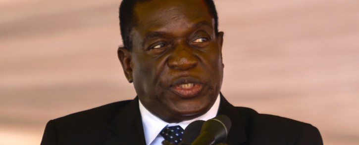 FILE: Emmerson Mnangagwa. Picture: AFP