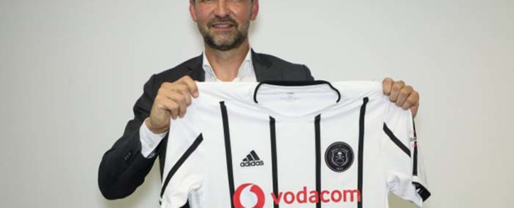 Orlando Pirates' newly-appointed head coach Josef Zinnbauer. Picture: @orlandopirates/Twitter.