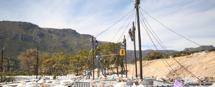 New electricity connections in Disa in Imizamo Yethu. Picture: EWN