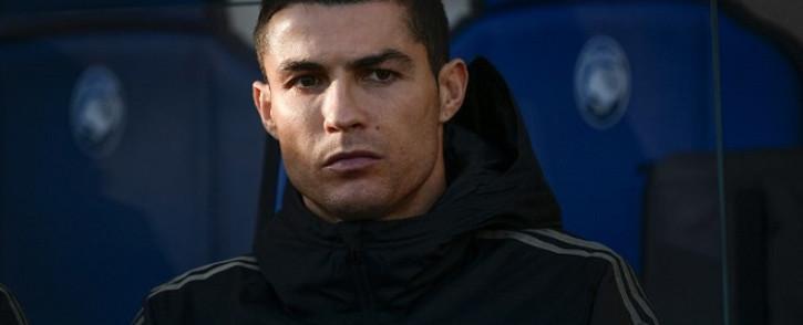 Portuguese footballer Christiano Ronaldo. Picture: AFP