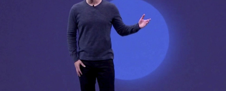 A screengrab of Facebook CEO Mark Zuckerberg. Picture: CNN