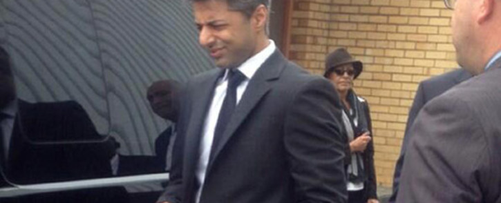 FILE: British businessman and honeymoon murder accused Shrien Dewani arrives in Cape Town on 8 April 2014. Picture: Sapa.