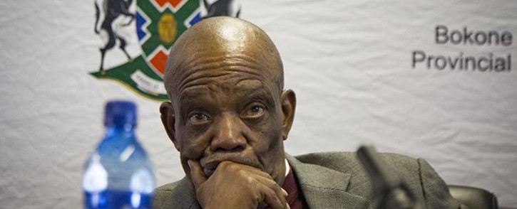 FILE: North West Premier Job Mokgoro. Picture: Sethembiso Zulu/EWN.