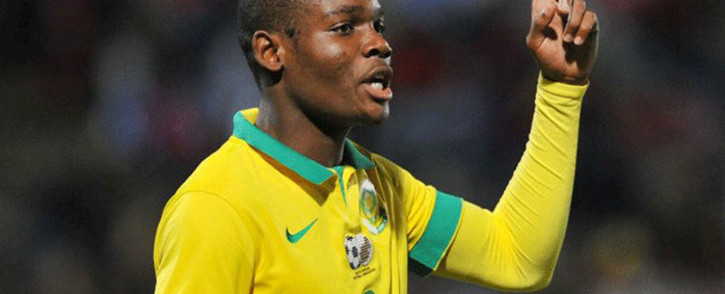 South Africa's national Under-23 captain Tercious Malepe. Picture: @ajaxcapetown/Twitter.