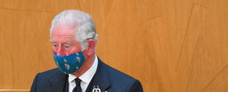 Britain's Prince Charles, Prince of Wales sits in the Debating Chamber during the opening of the sixth session of the Scottish Parliament in Edinburgh, Scotland on 2 October 2021. Picture: AFP