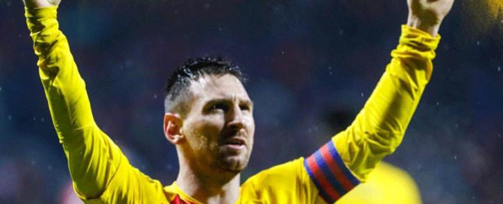 Barcelona FC's Lionel Messi. Picture: @FCBarcelona/Twitter.