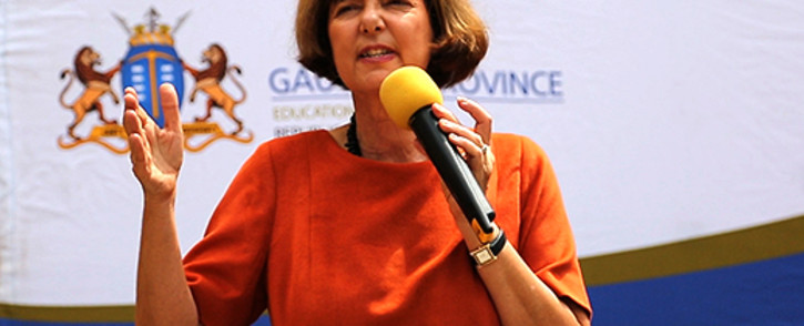 Gauteng Finance MEC Barbara Creecy. Picture: EWN.