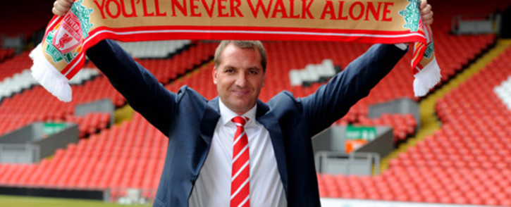 New Liverpool FC boss Brendan Rodgers. Picture: @LivEchoNews via Twitter