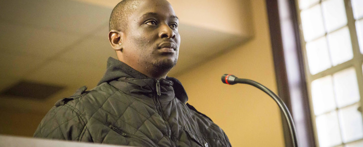 FILE: Elvis Ramosebudi in the Johannesburg Magistrates Court on 28 April 2017. Picture: Thomas Holder/EWN.