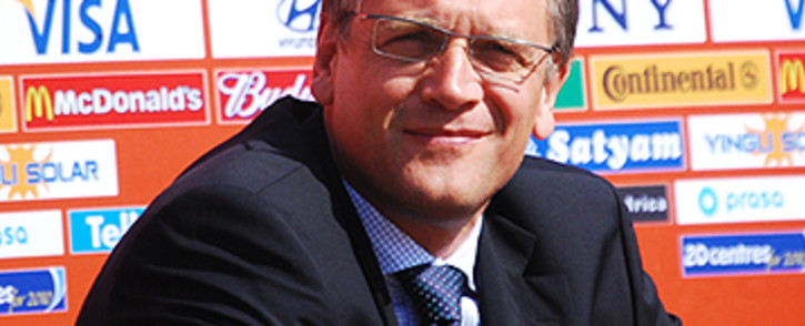 FILE: Former FIFA general secretary Jerome Valcke at the International Broadcast Centre in Johannesburg. Picture: EWN.