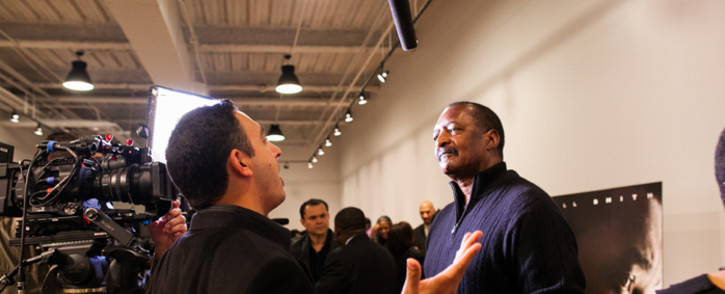 FILE: Mathew Knowles gets interviewed before a screening of 'Concussion' in Houston, Texas 19 December 2015. Picture: AFP