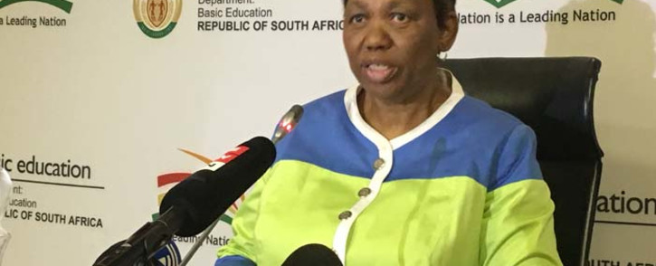 FILE: Education Minister Angie Motshekga. Picture: EWN