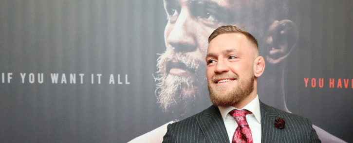 FILE: Irish mixed martial arts star Conor McGregor. Picture: AFP