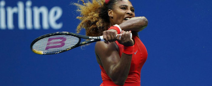 Serena Williams in action at the US Open in New York on 1 September 2020. Picture: @usopen/Twitter