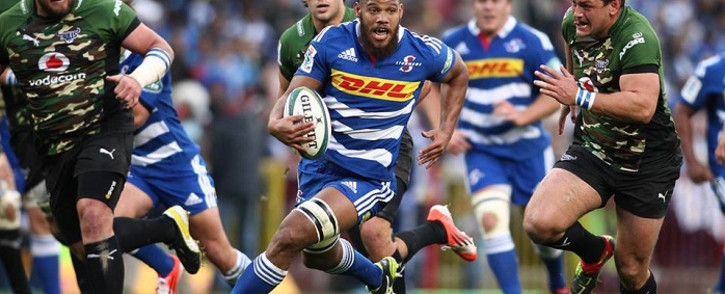FILE: Stormers loose forward Nizaam Carr streaks through a gap in the Bulls defence during the Stormers' 16-0 win at Newlands. Picture: Official Stormers Facebook Page.