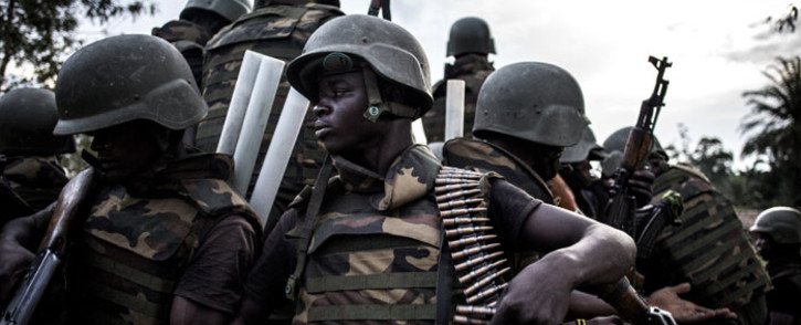 FILE: Soldiers from the Armed Forces of the Democratic Republic of the Congo. Picture: AFP