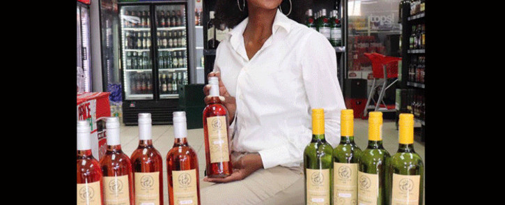 Sthandiwe Zikode is the founder of Queenery Wines. Picture: Queenery Winery/Facebook.