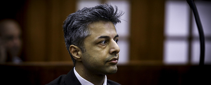 FILE: Shrien Dewani in the dock at the Cape Town High Court in November 2014. Picture: Thomas Holder/EWN.