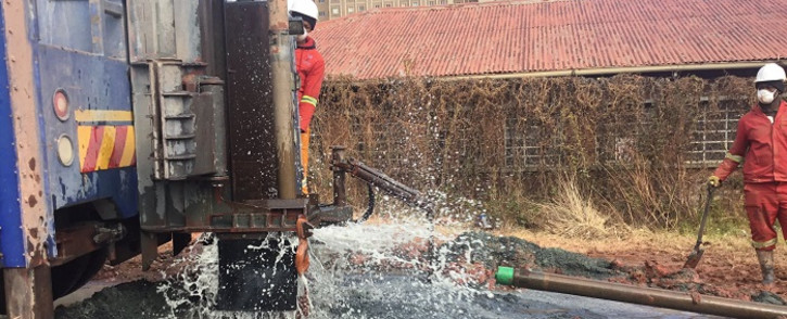 The Gift of the Givers said the water would be tested and approved for human consumption and would serve as a backup plan to avoid a future crisis. Picture: Veronica Makhoali/Eyewitness News.