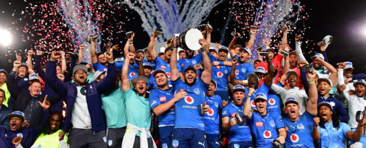 The Bulls beat the Sharks 44-10 in the Currie Cup final on 11 September 2021. Picture: @BlueBullsRugby/Twitter