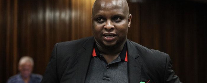 EFF deputy leader Floyd Shivambu at the North Gauteng High Court on 12 December 2018. Picture: Abigail Javier/EWN