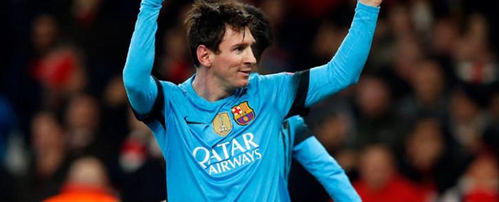 FILE: Barcelona striker Lionel Messi. Picture: Barcelona FC/Facebook.