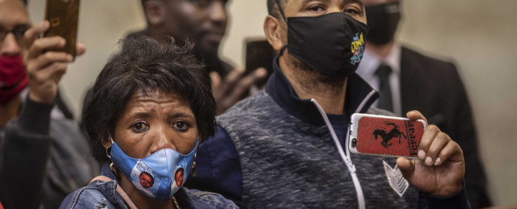 Family members of murdered teen Nathaniel Julies at the Proteas Magistrates Court on 22 September 2020. Picture: Abigail Javier/EWN