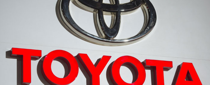 The Toyota logo. Picture: AFP