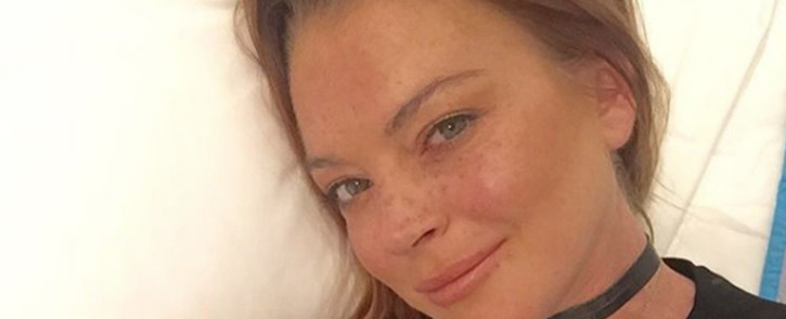 'Mean Girls' actress Lindsay Lohan. Picture: @lindsaylohan/Instagram.