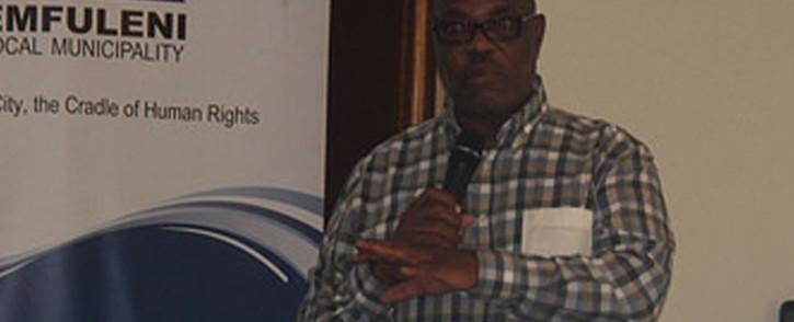 FILE: Simon Mofokeng presiding over an Emfuleni council meeting. Picture: Emfuleni Municipality